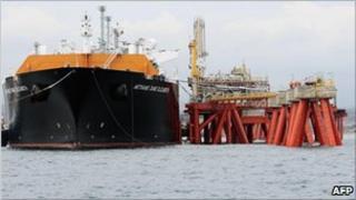 gas cargo ship