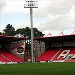 Dean Court football stadium
