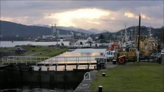 Caledonian Canal. Image: Undiscovered Scotland