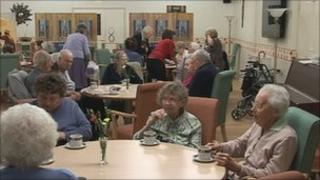 Age Concern day care centre in Woodley, Wokingham