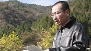 Liu Xiaobo in Oct 28, 2008