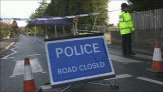 Scene of the accident in Bath