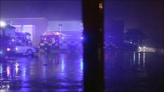 North Belfast school fire