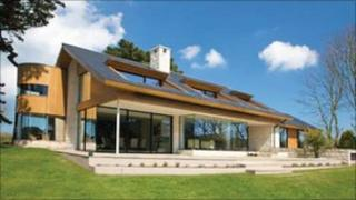 Award winning house The Lodge in Guernsey