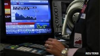 Trader's screen