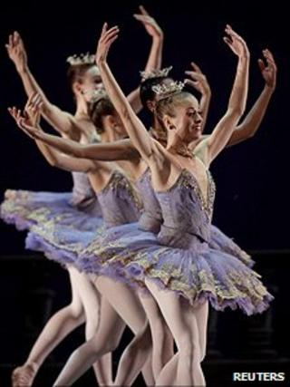 Dancers from The American Ballet Theatre