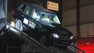 The millionth Range Rover
