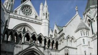The Royal Courts of Justice, or High Court, in London