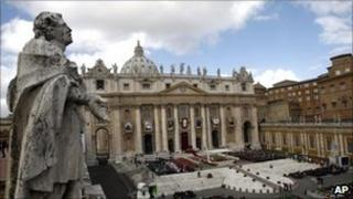 St Peter's Square at the Vatican (file)