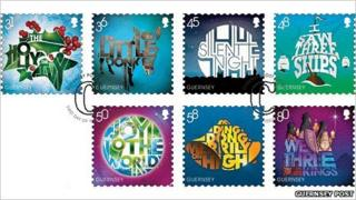 Guernsey Christmas stamps