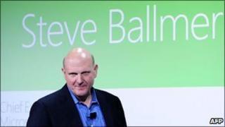 Microsoft chief executive Steve Ballmer