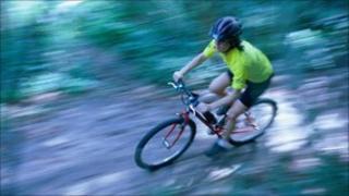 generic mountain biker