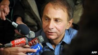 French novelist Michel Houellebecq