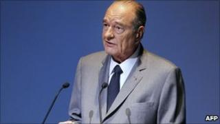 Former President of France, Jacques Chirac (5 Nov 2010)