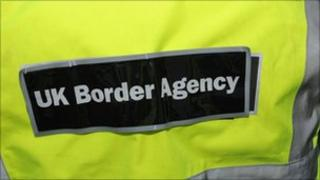 UK Border Agency uniform