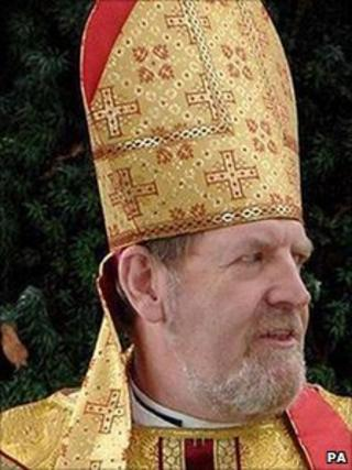 Bishop of Ebbsfleet, Rt Rev Andrew Burnham