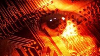 Eye on circuit board
