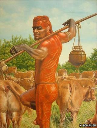 First farmer of the Linear Pottery Culture