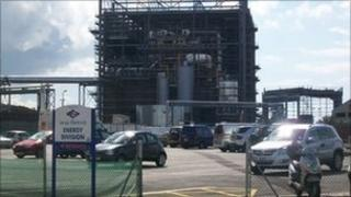 Jersey incinerator
