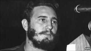 Fidel Castro in the 1960s