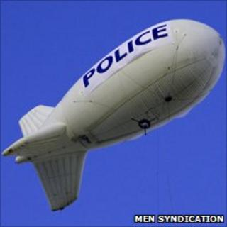 "GMP's ""Eagle Eye Blimp"""