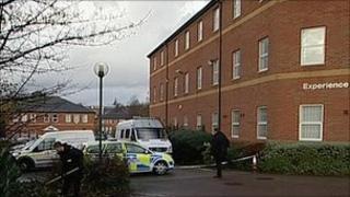 Police at scene of attack