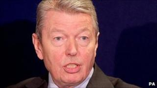 Shadow Chancellor Alan Johnson