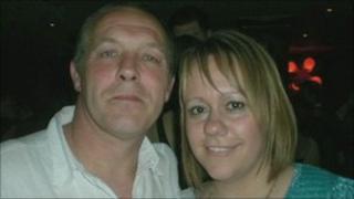 Kevin Sainsbury and Karen Brookes