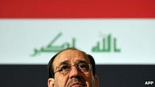 Iraqi Prime Minister Nouri Maliki (April 2009)