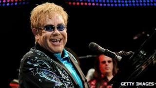 Sir Elton John - file pic