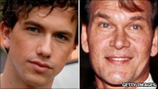 Richard Fleeshman and Patrick Swayze