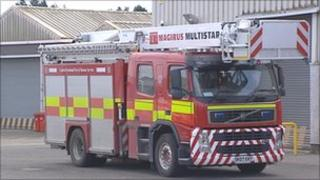 Faulty fire engine