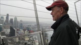 Jonathan Raban looks out over Seattle