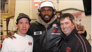 Audley Harrison and boxing coaches