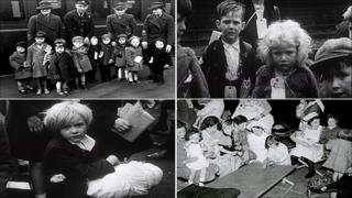 Composite image of the evacuees