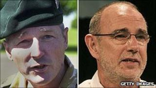 Col Tim Collins and Jimmy McGovern