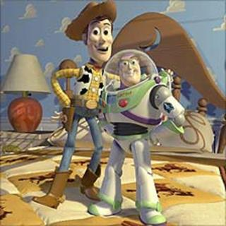 Toy Story stars Woody the Cowboy and Buzz Lightyear