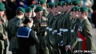 40 Commando campaign medals