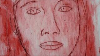Portrait of Karen Olivia Avila Herrera by Tamsyn Challenger