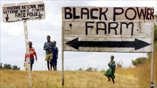 Land invasion (file photo)