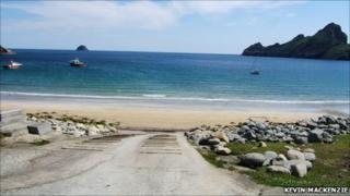 St Kilda. Pic: Kevin MacKenzie