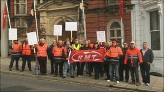 Tynwald Steam Packet protest