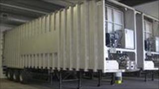 Unsuitable waste trailer