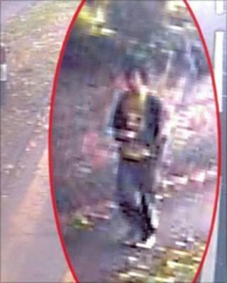 Burpham bus CCTV image