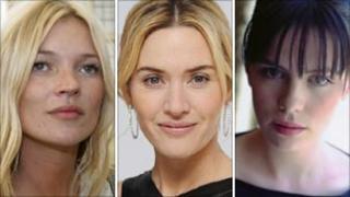 Kate Moss, Kate Winslet, Kate Beckinsale