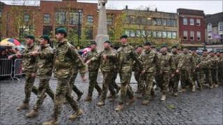 40 Commando homecoming parade