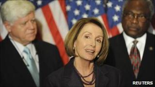 Nancy Pelosi, John Larsen, James Clyburn