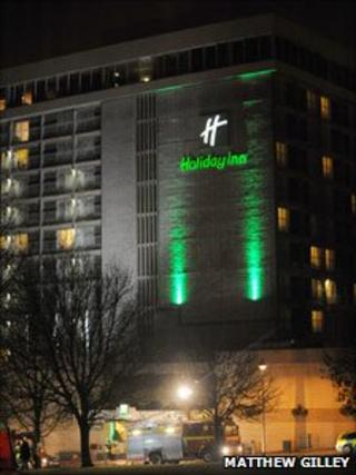 Holiday Inn fire