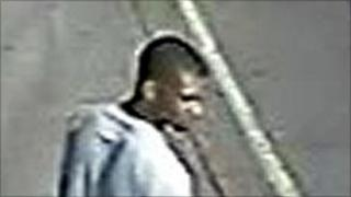 CCTV footage of man suspected of necklace thefts