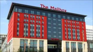 The Mailbox building